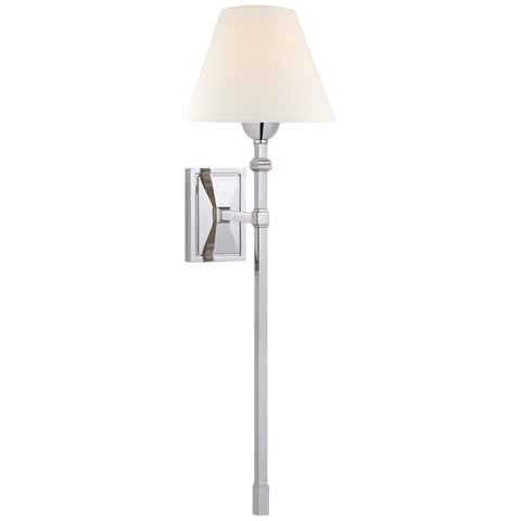 Jane Large Single Tail Sconce by Alexa Hampton