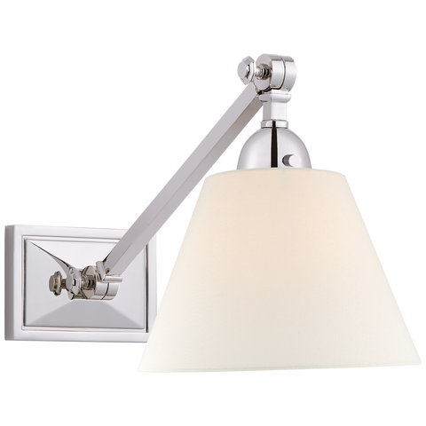Jane Single Library Wall Light by Alexa Hampton