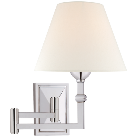 Jane Swing Arm Wall Light by Alexa Hampton
