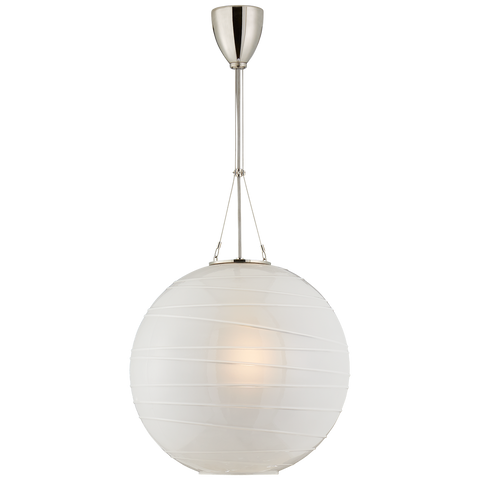 Hailey Medium Round Pendant by Alexa Hampton