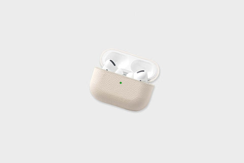 Courant AirPods Pro Leather Case - Bone