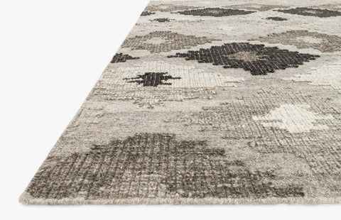 Akina Rug in Grey & Charcoal design by Loloi