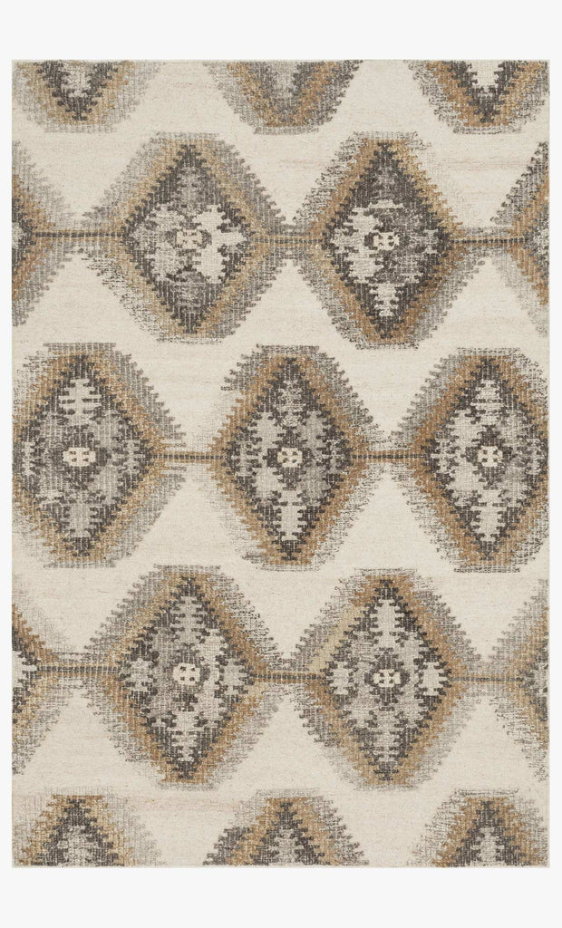 Akina Rug in Ivory & Camel design by Loloi