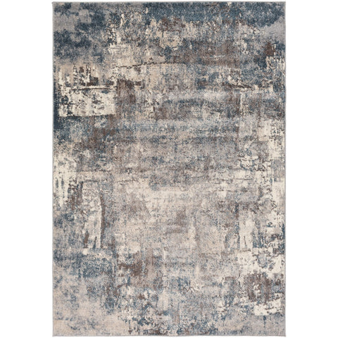 Ankara AKR-2307 Rug in Cream & Medium Grey by Surya