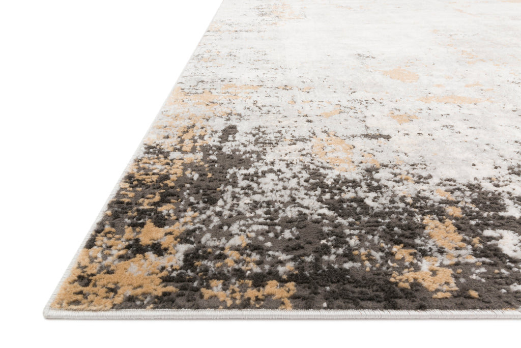 Alchemy Rug in Granite / Gold by Loloi II