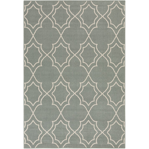 Alfresco Outdoor Rug in Sage & Cream