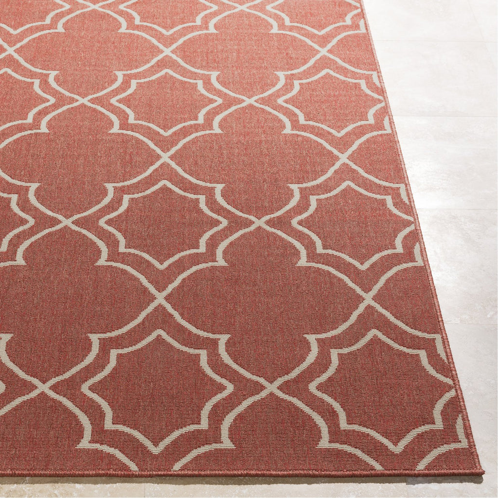Alfresco ALF-9591 Rug in Rust & Cream by Surya