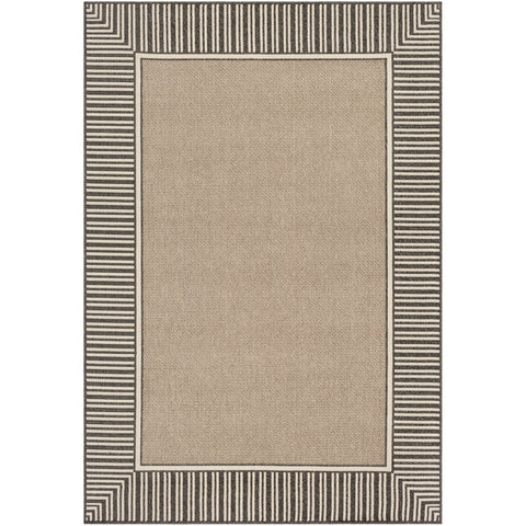 Alfresco Rug in Camel & Black