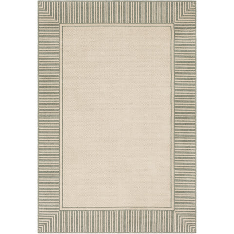Alfresco Rug in Sea Foam & Cream