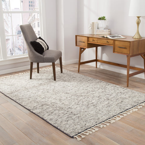Alpine Rug in Moon Beam & Excaliber design by Jaipur