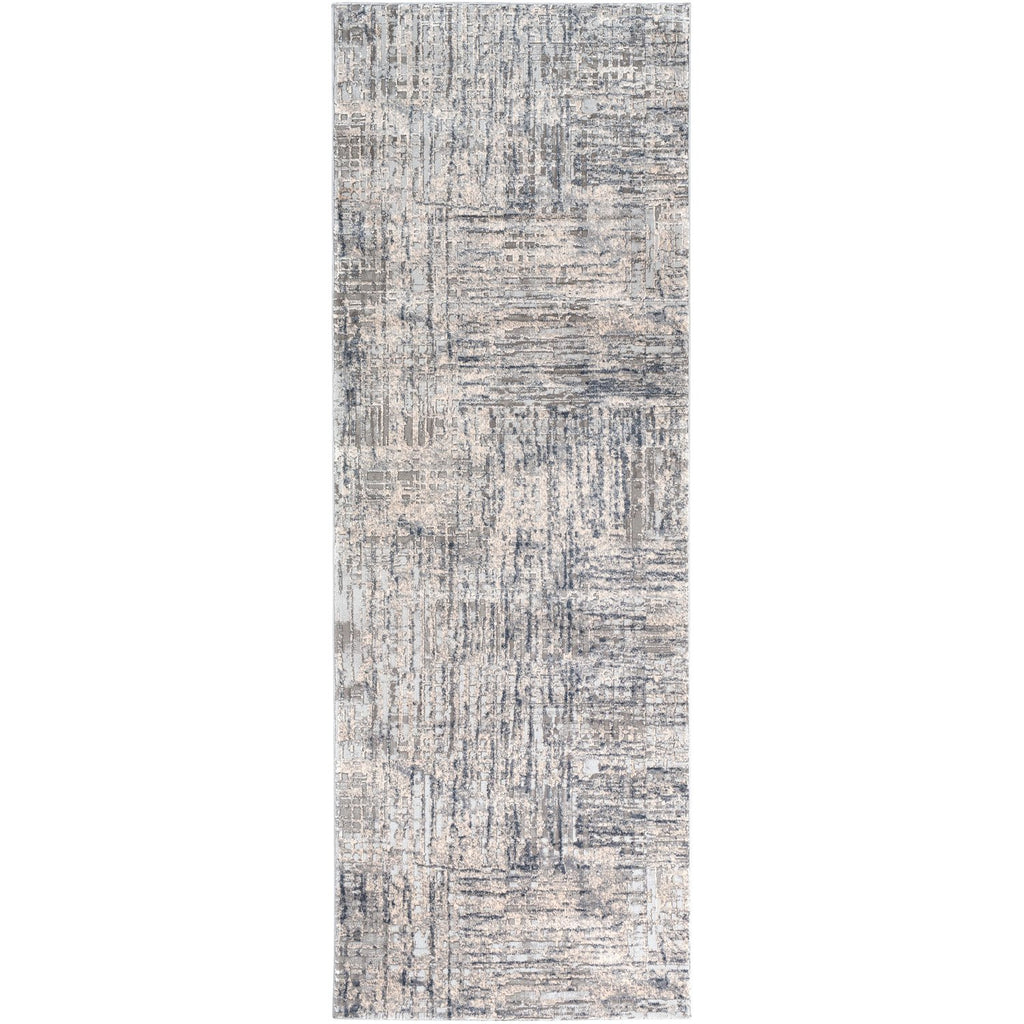 Alpine ALP-2305 Rug in Gray & Charcoal by Surya