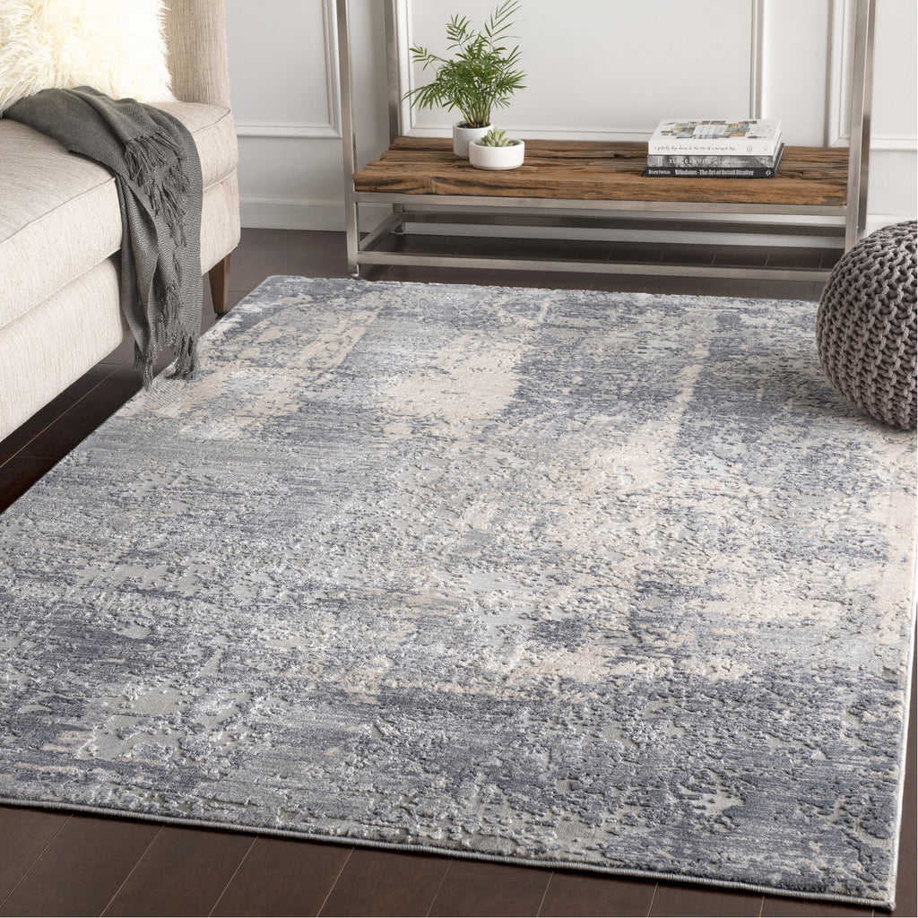 Alpine ALP-2306 Rug in Gray & Charcoal by Surya