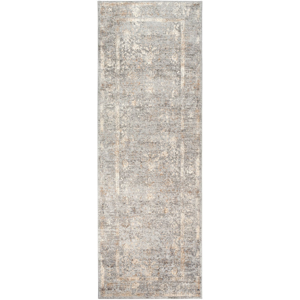 Alpine ALP-2307 Rug in Gray & Ivory by Surya