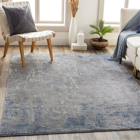 Alpine ALP-2308 Rug in Denim & Medium Gray by Surya