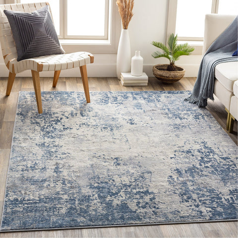Alpine ALP-2310 Rug in Denim & White by Surya