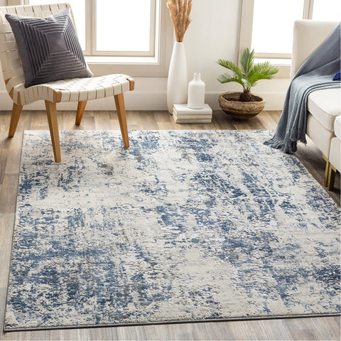 Alpine ALP-2311 Rug in Denim & White by Surya