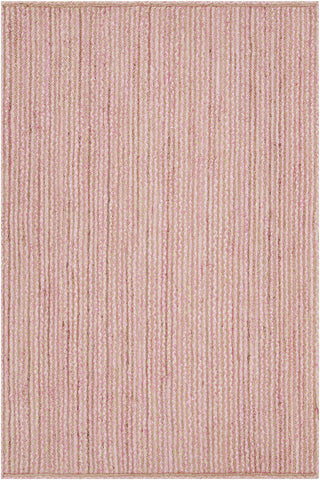 Alyssa Collection Hand-Woven Area Rug in Pink & Natural design by Chandra rugs