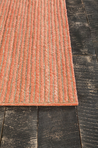 Alyssa Collection Hand-Woven Area Rug in Orange & Natural design by Chandra rugs