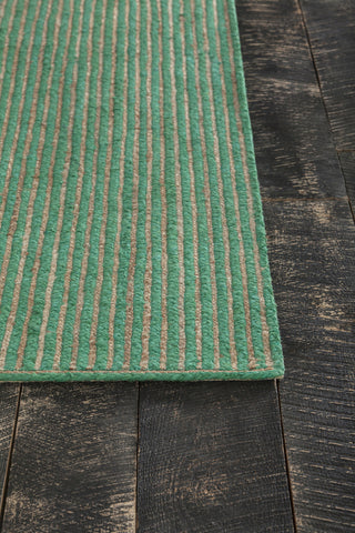 ... Alyssa Collection Hand Woven Area Rug In Dark Green U0026 Natural Design By  Chandra Rugs