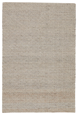 Naturals Ambary Rug in Lily White & Monument design by Jaipur Living