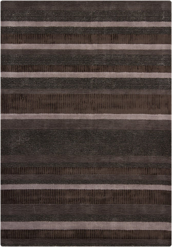 Amigo Collection Hand-Woven Area Rug in Brown design by Chandra rugs