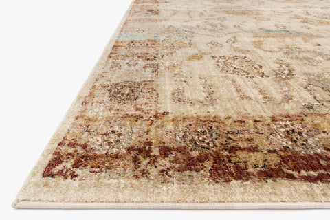Anastasia Rug in Ivory & Rust design by Loloi