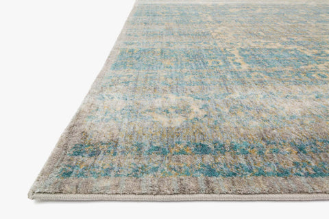 Anastasia Rug in Light Blue & Mist design by Loloi