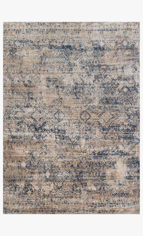 Anastasia Rug in Mist & Blue design by Loloi