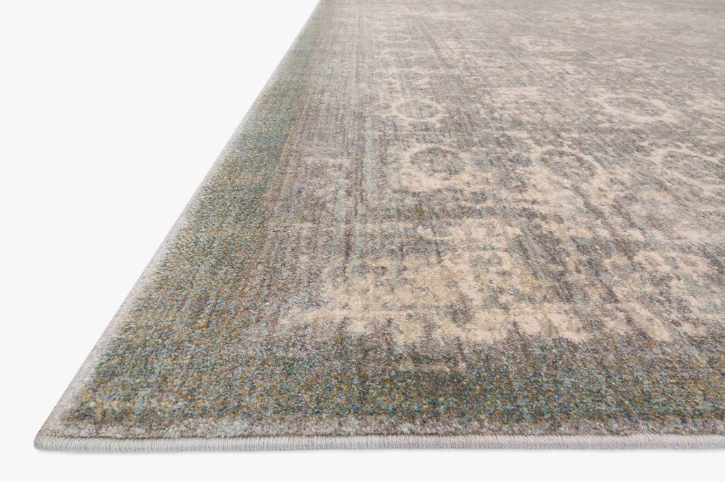 Anastasia Rug in Grey & Sage design by Loloi