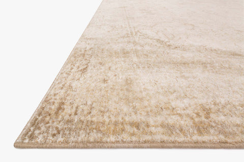 Anastasia Rug in Ivory & Light Gold design by Loloi