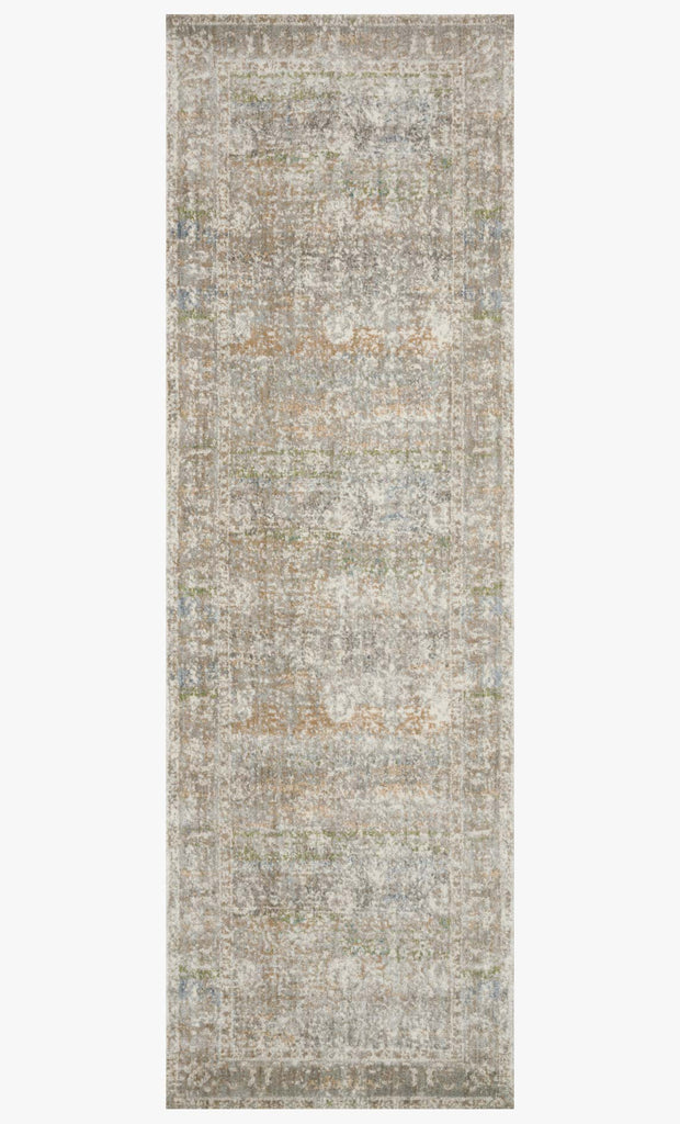 Anastasia Rug in Grey & Multi design by Loloi