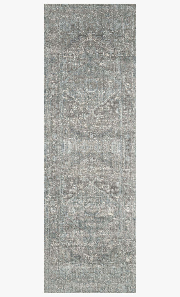 Anastasia Rug in Stone & Blue design by Loloi