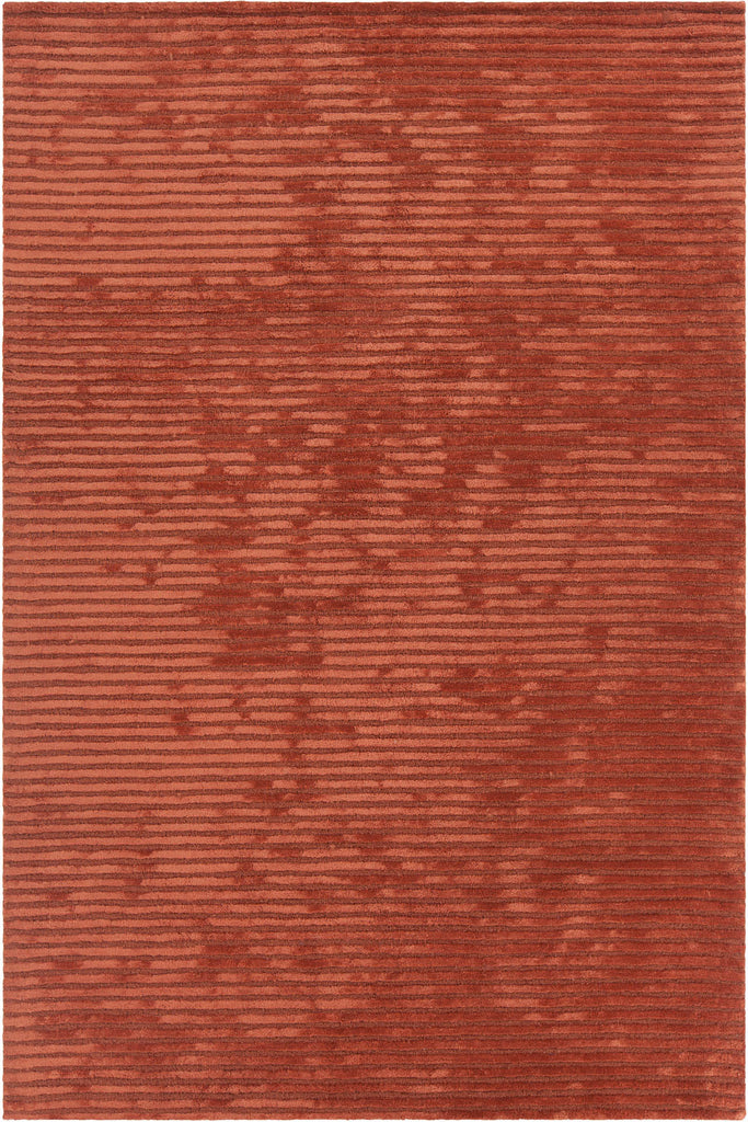 Angelo Collection Hand-Tufted Area Rug in Orange design by Chandra rugs
