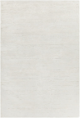 Angelo Collection Hand-Tufted Area Rug in White