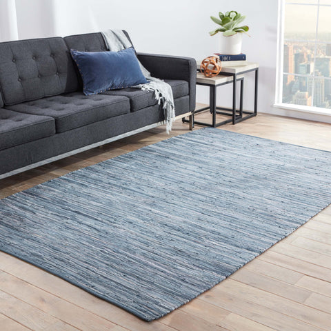 Ann Rug in Bijou Blue design by Jaipur