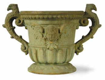 Queen Ann Urn in Bronzage Finish design by Capital Garden Products