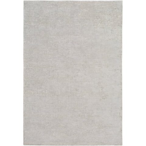 Aspen ANP-2304 Hand Loomed Rug in Medium Gray & White by Surya