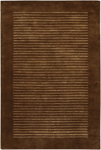 Antara Collection Hand-Tufted Area Rug in Brown & Cream design by Chandra rugs