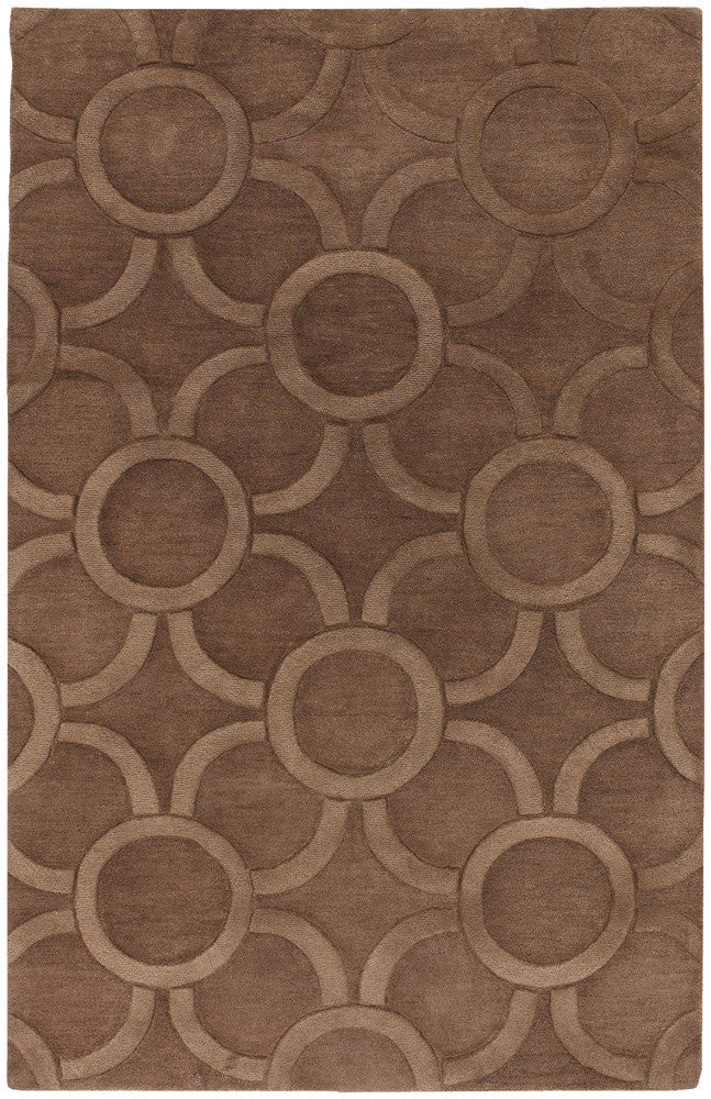 Antara Collection Hand-Tufted Area Rug in Brown design by Chandra rugs