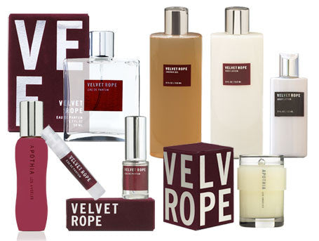 Velvet Rope Scents by Apothia