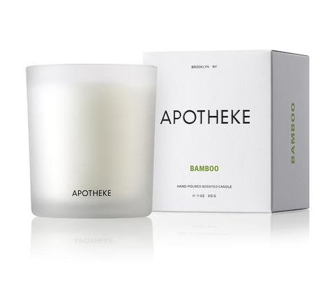 Bamboo Signature Candle design by Apotheke