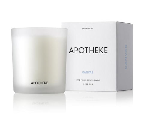 Canvas Signature Candle design by Apotheke