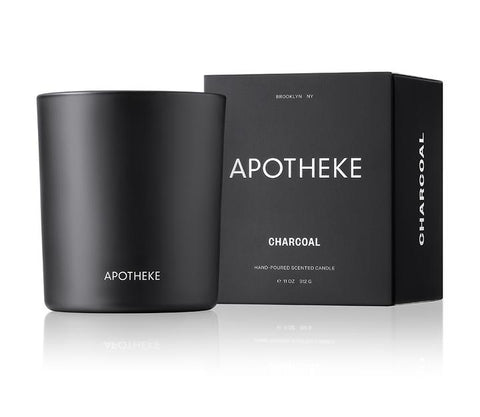 Charcoal Signature Candle design by Apotheke
