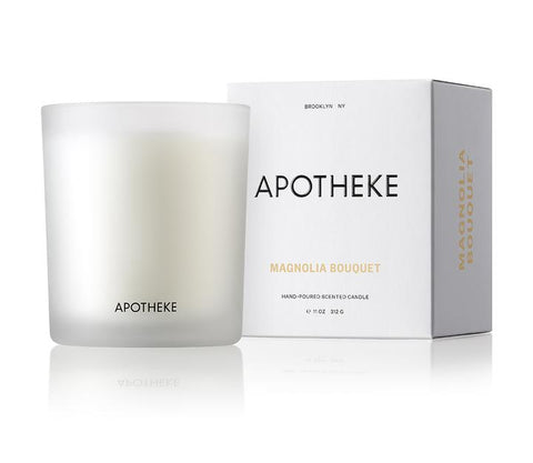 Magnolia Bouquet Signature Candle design by Apotheke