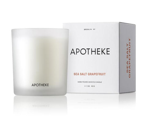 Sea Salt Grapefruit Signature Candle design by Apotheke