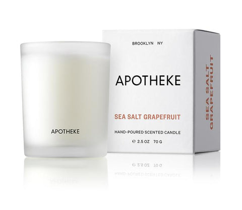 Sea Salt Grapefruit Votive Candle design by Apotheke