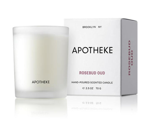 Rosebud Oud Votive Candle design by Apotheke