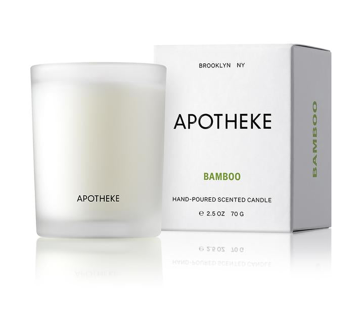 Bamboo Votive Candle design by Apotheke