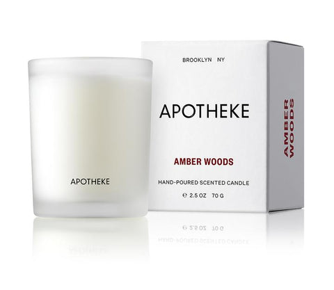 Amber Woods Votive Candle design by Apotheke