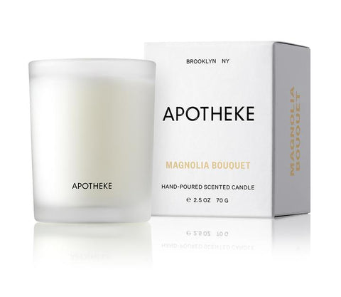 Magnolia Bouquet Votive Candle design by Apotheke